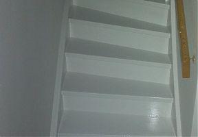 povrchová úprava schodiště