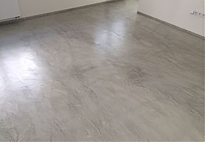Cementová podlaha
