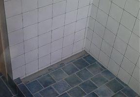 výstavba sprchového koutu